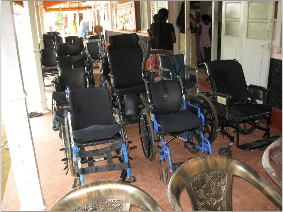 Wheelchairs-Pitigala